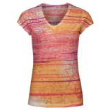 The North Face Tadasana Burn-Out Top - Short Sleeve (For Women)