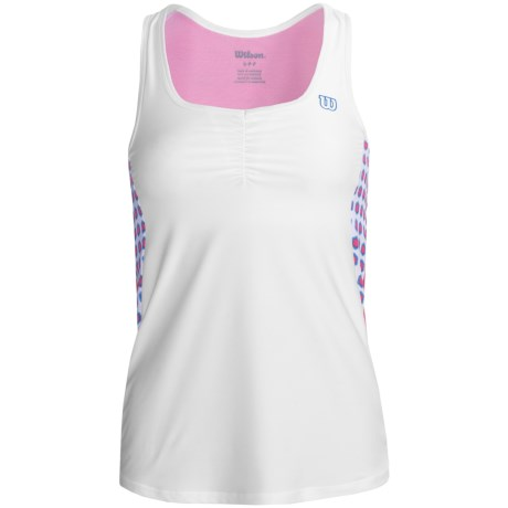 Wilson Passion Tank Top - UPF 30+, Built-In Sports Bra (For Women)