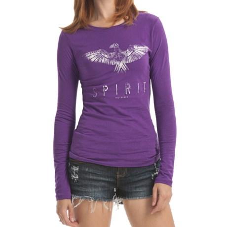 Billabong Screenprinted Shirt - Long Sleeve (For Women)
