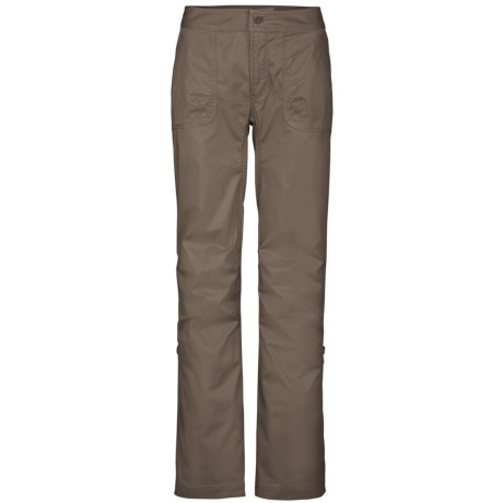 The North Face Bishop Pants - UPF 30, Roll-Up Legs, Stretch Cotton (For Women)
