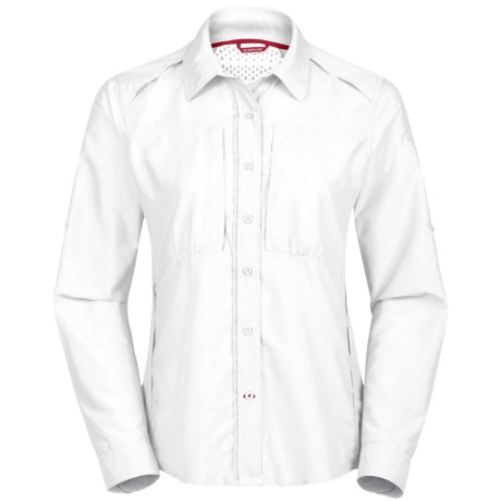 The North Face Crossdye Woven Shirt - UPF 30, Long Sleeve (For Women)