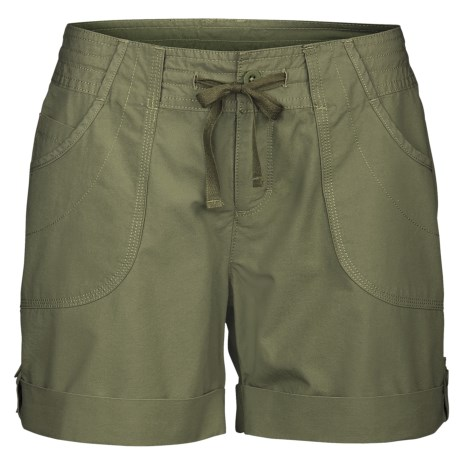 The North Face Robertson Shorts - UPF 30, Cotton Canvas (For Women)