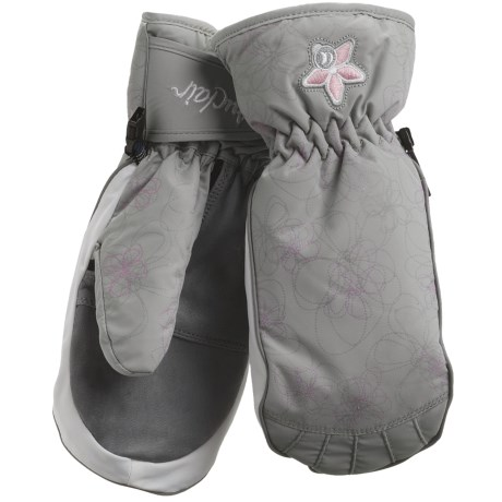 Auclair Swirls & Flowers Mittens - Waterproof, Insulated (For Women)