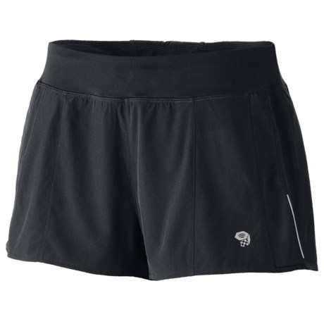 Mountain Hardwear Ultrapacer Shorts - UPF 30 (For Women)