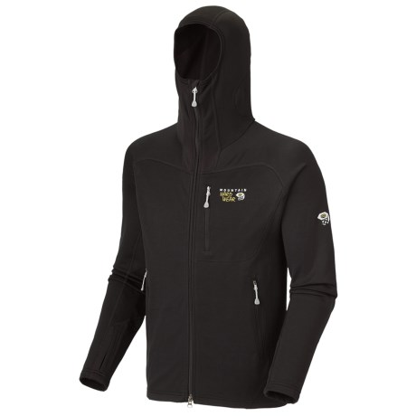 Mountain Hardwear Desna Hooded Jacket - Polartec® Power Stretch® (For Men)