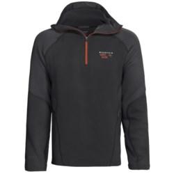 Mountain Hardwear Desna Hooded Pullover - Polartec® Power Stretch®, Zip Neck (For Men)