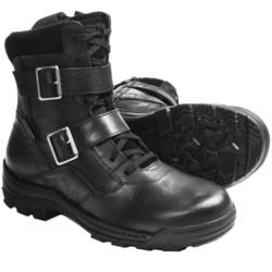 "Harley-Davidson Cedar 9.5"" Boots - Full-Grain Leather, Side Zip (For Men)"