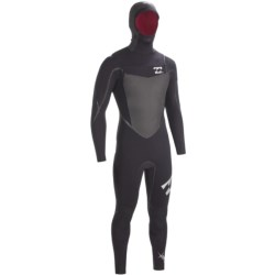 Billabong SOL 543 SG5 Hooded Chest Zip Full Wetsuit - 5/4/3mm (For Men)