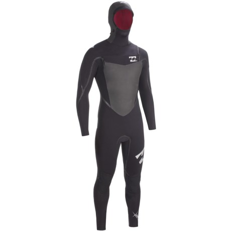 Billabong SOL 543 SG5 Hooded Chest Zip Full Wetsuit - 5/4/3mm (For Men)