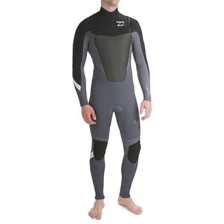 Billabong 302 Foil Full Wetsuit - 3mm, Chest Zip, Long Sleeve (For Men)
