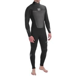 Billabong 403 Foil Wetsuit - 4mm, Long Sleeve, Back Zip (For Men)