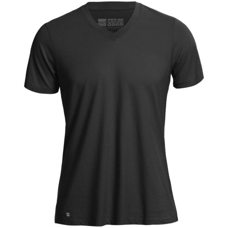 PACT Pact Essentials V-Neck T-Shirt -  Short Sleeve (For Men)