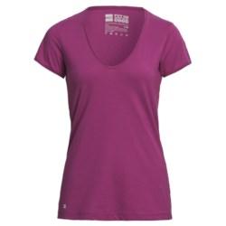 PACT V-Neck T-Shirt - Organic Cotton-Modal, Short Sleeve (For Women)