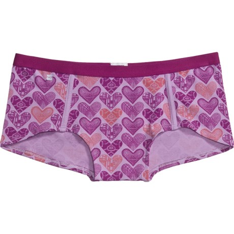 PACT Share the Love Panties - Boy Shorts, Organic Cotton (For Women)
