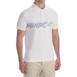 Victorinox Swiss Army Chest-Print Polo Shirt - CoolMax®, Short Sleeve (For Men)
