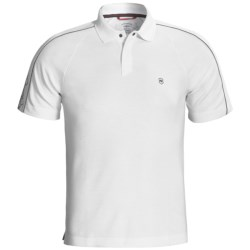 Victorinox Swiss Army Sleeve-Print Polo Shirt - Pima Cotton-CoolMax®, Short Sleeve (For Men)