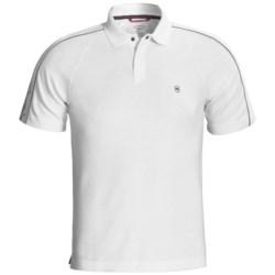 Victorinox Swiss Army Sleeve-Print Polo Shirt - Pima Cotton-CoolMax®, Short Sleeve (For Men)