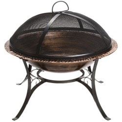 Good Directions Mayan Design Fire Pit with Spark Screen