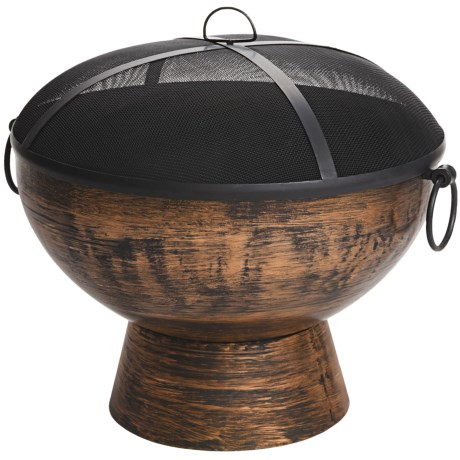"Good Directions 26"" Fire Bowl with Spark Screen"