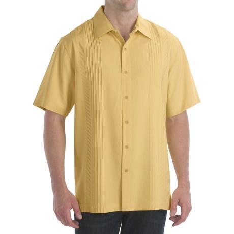Nat Nast Seams Sew Fine Shirt - Silk Weave, Short Sleeve (For Men)