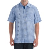 Nat Nast Tapestry Shirt - Silk Weave, Short Sleeve (For Men)