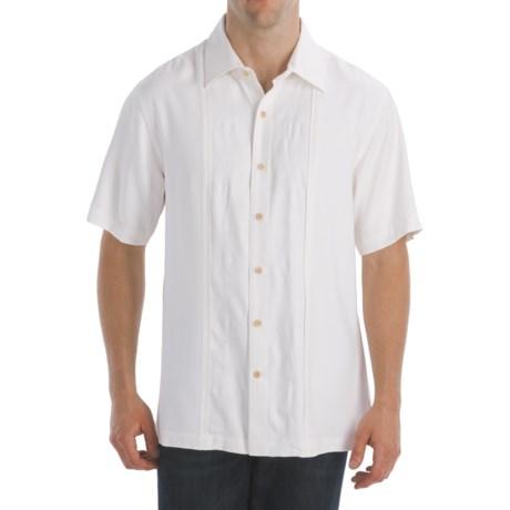 Nat Nast Nip and Tux Shirt - Silk Twill, Short Sleeve (For Men)