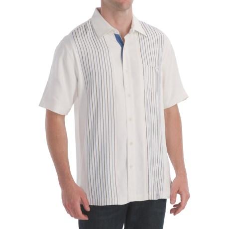 Nat Nast Plankton Shirt - Silk Twill, Short Sleeve (For Men)