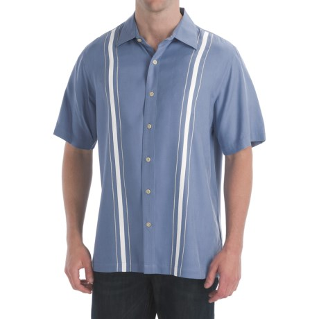 Nat Nast Medalist Shirt - American Fit, Silk Twill, Short Sleeve (For Men)