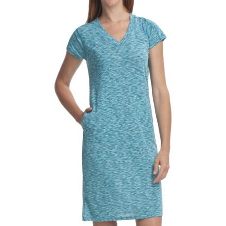 ExOfficio Chica Cool Dress - V-Neck, Short Sleeve (For Women)
