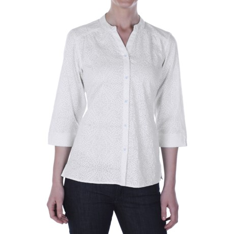 ExOfficio Next-To-Nothing Artisan Shirt - 3/4 Sleeve (For Women)
