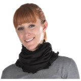 Medima Wool-Angora Ruffled Neck Band (For Women)