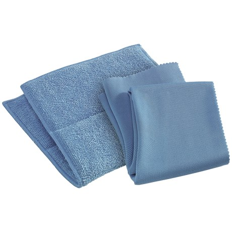 e-Cloth® Bathroom Cleaning and Polishing Cloths - Set of 2