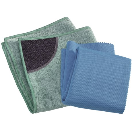 e-Cloth® Kitchen Pack Cloths with Scrubbing Pocket - Set of 2