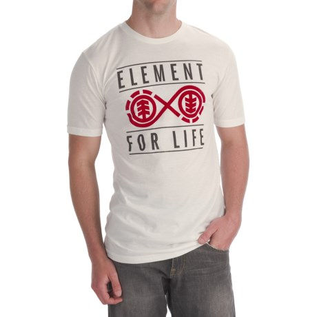 Element Forever T-Shirt - Organic Cotton Blend, Short Sleeve (For Men)