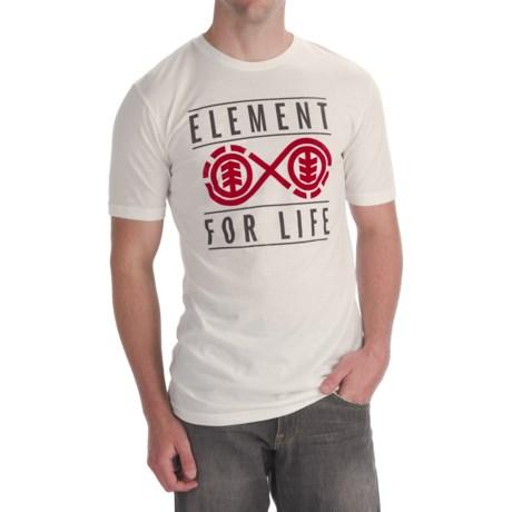 Element Forever T-Shirt - Organic Cotton Blend, Short Sleeve (For Men)