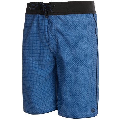 Element Grid Eco Flex Boardshorts - Recycled Materials (For Men)