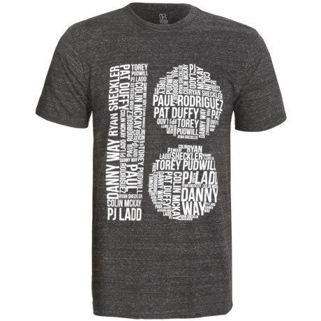 Plan B Tri-Blend Graphic T-Shirt -Short Sleeve (For Men)