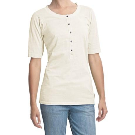 Woolrich First Forks Henley Shirt - Short Sleeve (For Women)