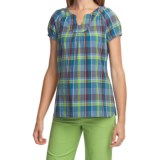 Woolrich Amaryllis Shirt - Organic Cotton, Short Sleeve (For Women)
