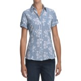 Woolrich New Hope Shirt - UPF 20, Short Sleeve (For Women)