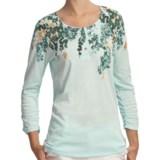 Woolrich Fisher Island Slub Jersey Tee - 3/4 Sleeve (For Women)
