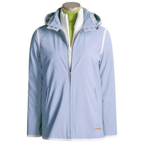 Weatherproof Nautical Windbreaker Jacket (For Women)