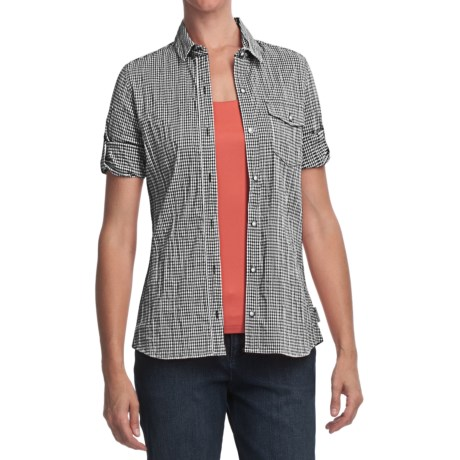 Woolrich Annalie Shirt - 3/4 Sleeve (For Women)
