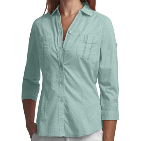 Woolrich Tanglewood Shirt - 3/4 Sleeve (For Women)