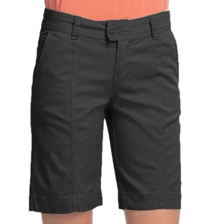 Woolrich Campbell Falls Twill Shorts - Stretch Cotton Slub (For Women)