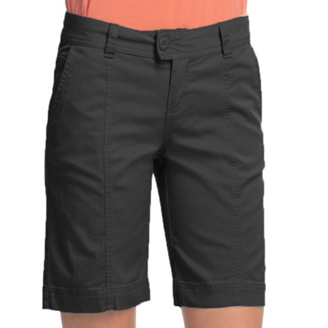 Woolrich Campbell Falls Twill Shorts - Stretch Cotton Slub (For Women)