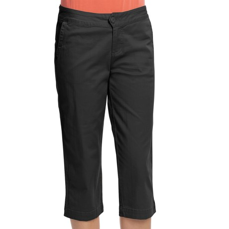 Woolrich Campbell Falls Twill Clam Digger Pants - Stretch Slub Cotton (For Women)