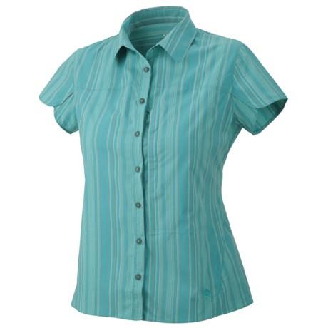 Mountain Hardwear Trailend Stripe Shirt - UPF 50, Stretch, Short Sleeve (For Women)