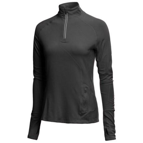 Mountain Hardwear Butter Zippity Shirt - UPF 50, Zip Neck, Long Sleeve (For Women)