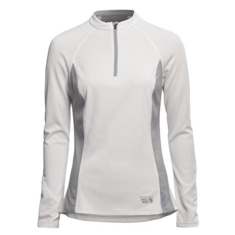 Mountain Hardwear Aliso Shirt - UPF 25, Zip Neck, Long Sleeve (For Women)